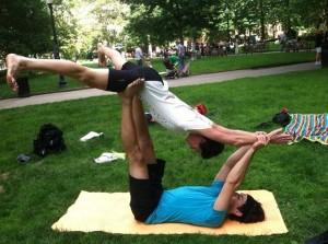 Mandell Peggy Acro-Yoga