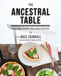Russ Crandall The Ancestral Table cover
