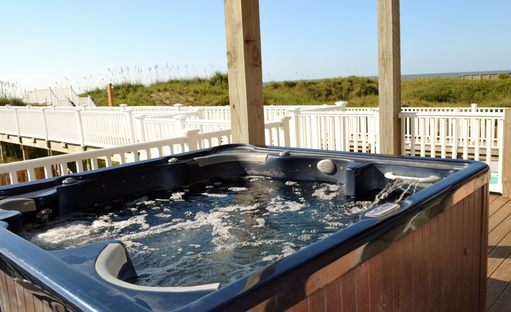 Property - Pura Vida hot tub
